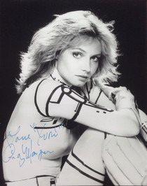 "Cindy Morgan ""Yori"" Signed 8x10 Tron B&W Photo"
