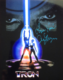 "Cindy Morgan ""Yori"" Signed 8x10 Tron Poster Color Photo Vertical"