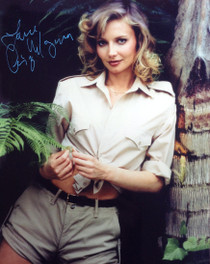 Cindy Morgan Signed 8x10 Bring 'Em Back Alive Color Photo v2