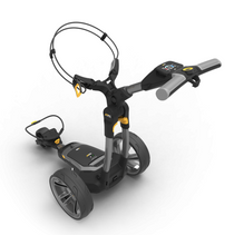 Powakaddy: Electric Trolley - CT6 Gun Metal Silver 18 Hole Lithium