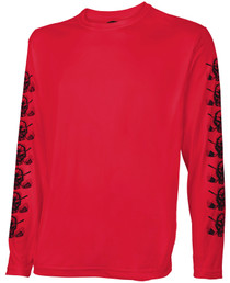 Tattoo Golf: Men's Long Sleeve Undershirt - Red