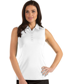 Antigua: Women's Essentials Sleeveless Polo - Tribute 104411