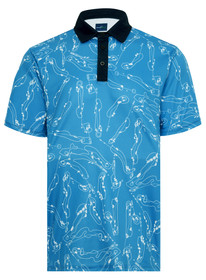 Blueprint Mens Golf Polo Shirt by ReadyGOLF