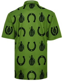 Horseshoes & Hand Grenades Mens Golf Polo Shirt by ReadyGOLF