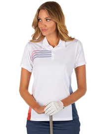 Antigua: Women's Performance Short Sleeve Polo - Liberty 104274