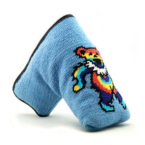 Smathers & Branson: Putter Headcover - Dancing Bear Needlepoint