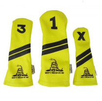 Sunfish: Headcover Set - Don't Tread On Me Gadsden Flag