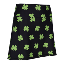 Four-Leaf Clover (Lime Green) Ladies Active SKORT by ReadyGOLF
