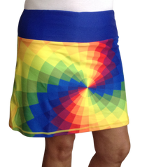 Tie Dye Ladies Active SKORT by ReadyGOLF