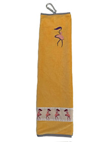 Taboo Fashions: Ladies Premium Players Towel - Yellow