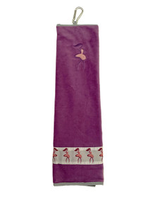 Taboo Fashions: Ladies Premium Players Towel - Purple
