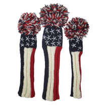 Sunfish: Knit Headcover - Liberty (Driver, Fairway, Hybrid, or Set)