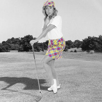 Royal & Awesome Women's Golf Skorts - Plaid Awesome Tartan (Size:2) SALE