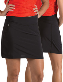 Antigua: Women's Performance - Enclave Skirt 101309 (Black) X-Large - SALE