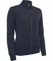 Abacus Sports Wear: Women's High-Performance Golf Windstop Cardigan - Dubson