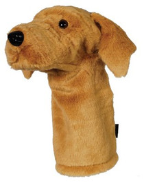 Noah's Animal Kingdom: Golf Club Headcovers - Tan Labrador