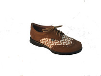 Sandbaggers: Women's Golf Shoes - Charlie Butterscotch Weave