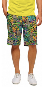Loudmouth Golf: Men's StretchTech Shorts - Safari