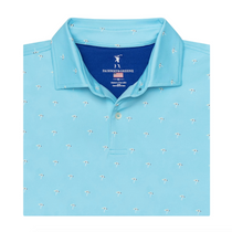 Fairway & Greene: Men's USA The Tides Print Jersey Polo