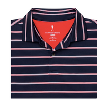 Fairway & Greene: Men's USA The Delano Stripe Jersey Polo