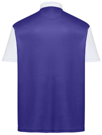Classic Argyle Mens Golf Polo Shirt - Purple & Gold by ReadyGOLF (Pre-Order)
