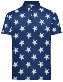 All Star Mens Golf Polo Shirt by ReadyGOLF