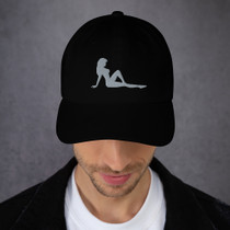 Mudflap Girl Embroidered Golf Hat by ReadyGOLF