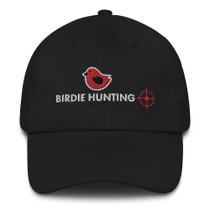 Birdie Hunting Embroidered Dad Hat by ReadGOLF