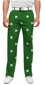 Loudmouth Golf: Men's StretchTech  Pants - Shamrock's