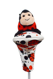 Creative Covers: Putter Pal Lady Bug Blade Putter Cover