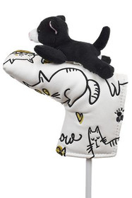 Creative Covers: Putter Pal Kitten / Cat Blade Putter Cover