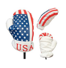 JP Lann Golf: Patriot Driver Head Cover - USA Boxing Glove