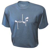 It Says Golf: Mens Premium T-Shirt - Turquoise
