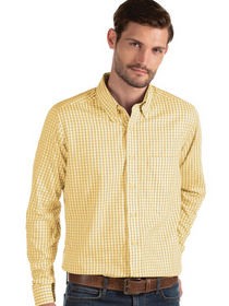 Antigua: Men's Essentials Woven - Structure 104227 Gold/White (Size: XL) SALE