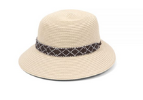 Physician Endorsed: Women's Sun Hat - Diamante (Natural/Brown)
