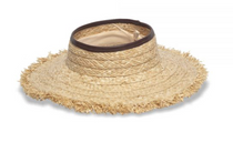 Physician Endorsed: Women's Sun Hat - Porto Heli (Natural/Brown)
