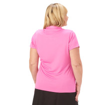 Nancy Lopez Golf: Women's Short Sleeve Plus Polo - Legacy