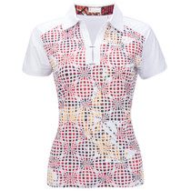 Nancy Lopez Golf: Women's Short Sleeve Plus Polo - Spirit