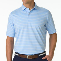 Fairway & Greene: Men's Faxon Stripe Jersey Polo