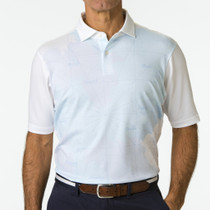 Fairway & Greene: Men's USA Autobahn Print Pique Polo