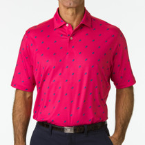 Fairway & Greene: Men's USA The Roadster Print Jersey Polo