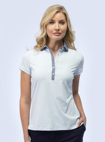 Fairway & Greene: Women's Kitty Short Sleeve Polo