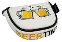 Beer Time Embroidered Putter Cover - Mallet