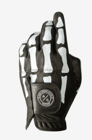 Asher Golf: Mens Golf Glove DeathGrip 2.0 - Black