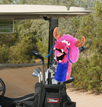 Daphne's HeadCovers: Dragon - Pink