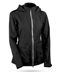 Sun Mountain: Women's Cumulus Jacket - Black (Medium) SALE