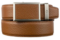 Nexbelt: Men's Go-In Pebble Grain V.4 Belt - Cognac