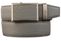 Nexbelt: Men's Go-In Pebble Grain V.4 Belt - Smoke Grey