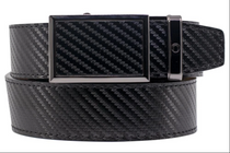 Nexbelt: Men's Go-In Traditions Belt - Carbon Black