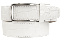 Nexbelt: Men's Alligator Series 2.0 Dress Belt - White